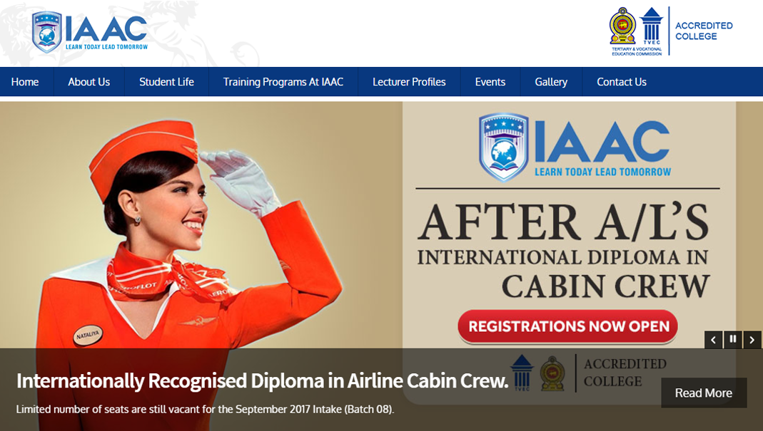 International Airline & Aviation College - IAAC Sri Lanka